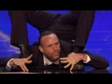 Americas Got Talent 2016 Jonathan Nosan The Suited Contortionist Full Audition S11E02