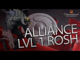 The Alliance LVL 1 Roshan vs. Na`Vi Game 2 Ti6