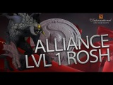 The Alliance LVL 1 Roshan vs. Na`Vi Game 2 Ti6