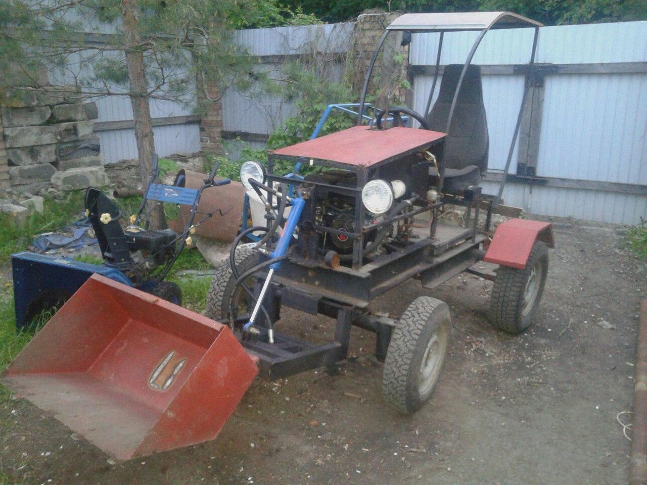 Как сделать трактор своими руками 56