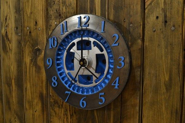Часы из запчастей своими руками 16