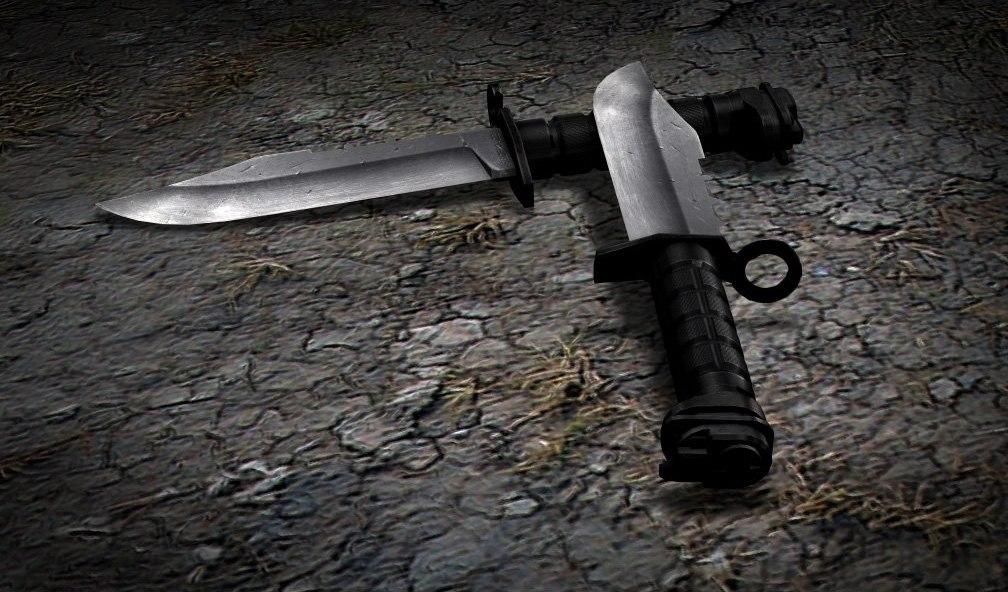 Сделать нож сталкере