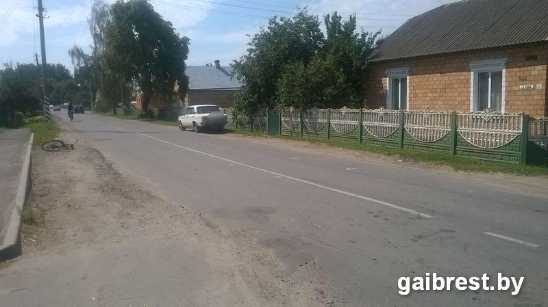 Столинский район: в ДТП пострадала 43-летняя женщина-велосипедист