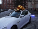БАНТ-НА-МАШИНУ.РФ БОЛЬШОЙ БАНТ d=1.5 м на Maserati (Мазерати)