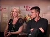 Жизнь, как она есть/Life as We Know It (2010) Интервью с Кэтрин Хайгл и Джошем Дюамелем. Часть 2