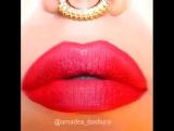 Красивый макияж губ