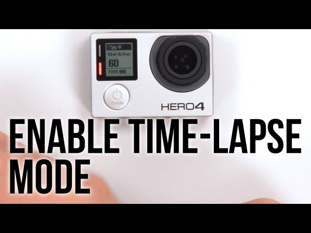HERO4 Setup Timelapse Mode