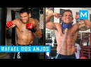 Rafael Dos Anjos Conditioning Workouts Pad Work Muscle Madness