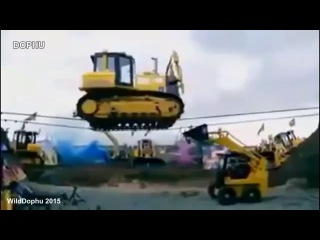 Аварий дтп происшествия с кранами, тракторами и спец техникой.