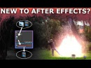 After Effects Basic Beginners Tutorial 1/8 - How To Create Cool VFX