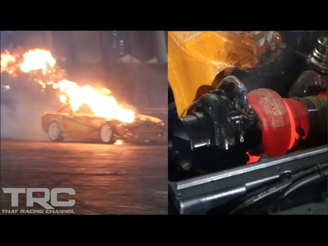 Crazy 2JZ Flame Thrower Anti lags to Explosion