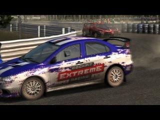 Automobilista/ First race/ Lancer Evo Rallycross