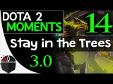 Dota 2 Moments #14 - Stay in the Trees 3.0