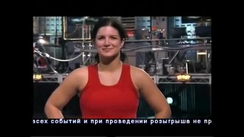 Тестирование ударов Gina Carano Джина Карано