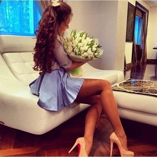 Девушки любят цветы, что бы не говорили….