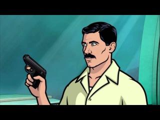 Спецагент Арчер (Приколы) - Чёртов Кригер