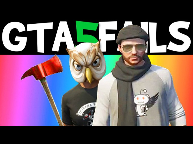 GTA 5 FAILS – EP. 8 (Funny moments compilation online Grand theft Auto V Gameplay)