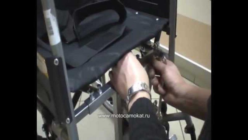 Универсальный мотопривод к инвалидной коляске Легенда/Wheelchair with motor