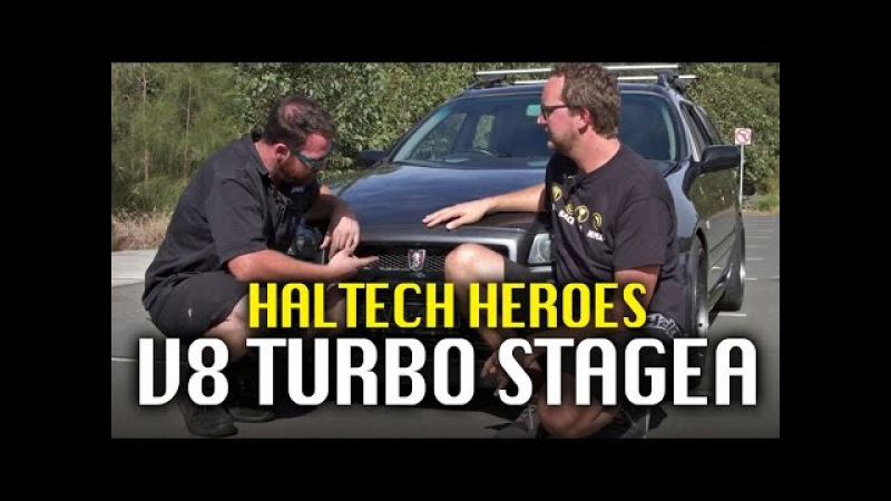 Mechanical Stigs turbo V8 Nissan Stagea - Haltech Heroes