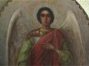 Ветеран ВОВ передал кузнецкому храму икону Михаила Архистратига