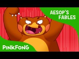 Kids' English  The Bear and Two Friends  Aesop's Fables  PINKFONG Story Time for Children