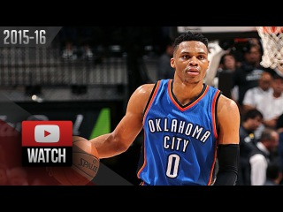 Russell Westbrook Full Game 5 Highlights vs Spurs (2016.05.10) - 35 Pts, 11 Reb, BEAST MODE!