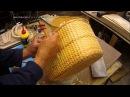 Плетение классических корзин часть 2
