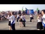 Вальс УВК-122 на Набережной. Финал конкурса на лучший школьный вальс.