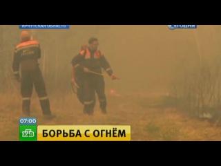В Забайкалье и Бурятии растет площадь лесных пожаров