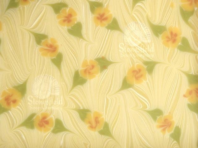 Soap Swirls How to do a Floral Ebru Swirl