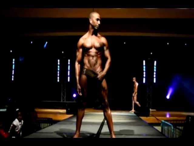 City Gym Boys in Swimwear Fashion Show @ Circle of Sisters 2011 NYC!