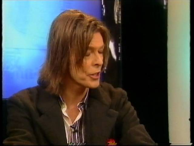 David Bowie Life On Mars and Survive Interview Net Aid Wembley Stadium 09.10.99.