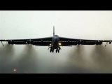 POWERFUL U.S. B-52 Stratofortress in CARPET BOMBING ACTION! (+ RARE takeoff &amp COCKPIT FOOTAGE!)