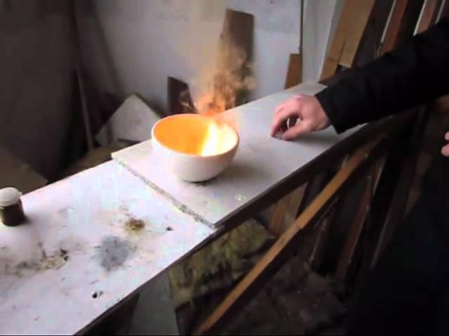 Серная кислота с марганцовкой и этиловым спиртом