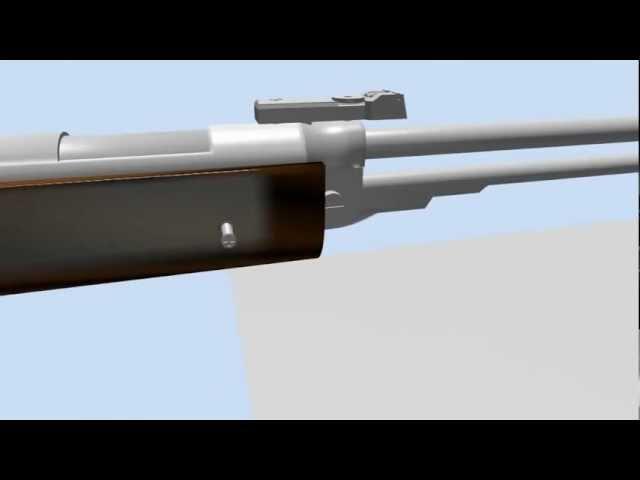 B3-F airgun assembly