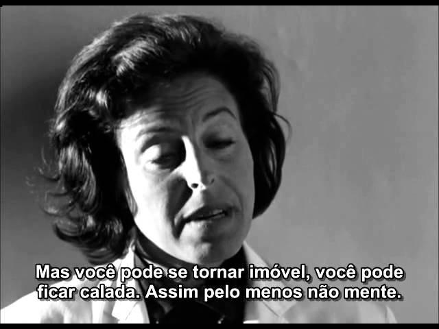 Persona (Ingmar Bergman, 1966) - Monólogo da Dra.