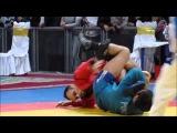 Rais Rahmatullin, 7-time Sambo world champion hits a victor roll!