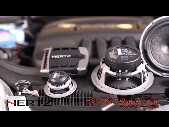 VW Golf Apple Carplay AppRadio Lautsprecher Hertz HSK Hertz Endstufe