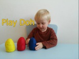 Яйца с Сюрпризом пластилин Плей До. Eggs with a surprise Play Doh