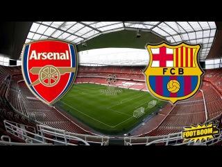 Арсенал - Барселона 0 : 2 Обзор Матча. Лига Чемпионов УЕФА. 23/02/2016