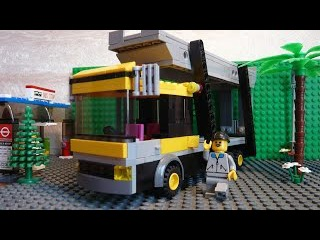 Как построить из лего #8 | Автовоз / Transporter