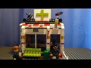 Как построить из лего #21 | Аптека / Chemist`s shop