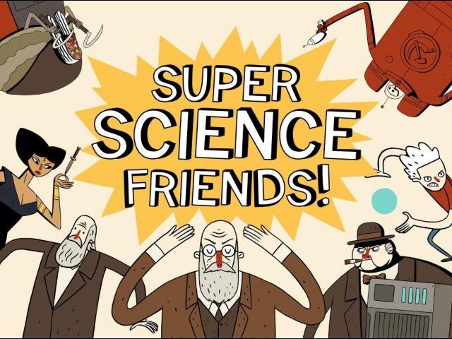 Учёные Супер Друзья - Эпизод 1: Скрытый замысел || Super Science Friends (RUS)
