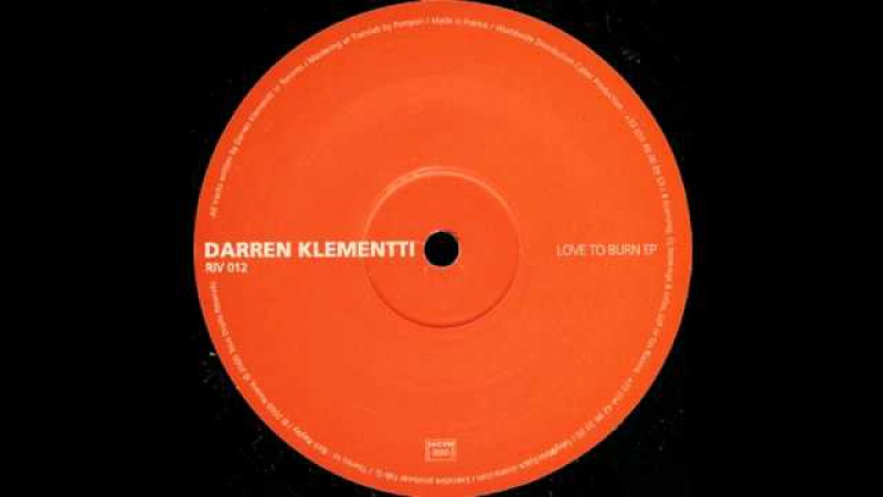 Darren Klementi - Who Luv To Get Down