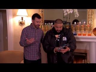 Jimmy Kimmel Enlists DJ Khaled as His Snapchat Coach русский язык БоГи (The Flowmastaz)