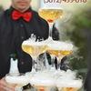 Пирамида шампанского • Бармен-шоу• Выездной бар
