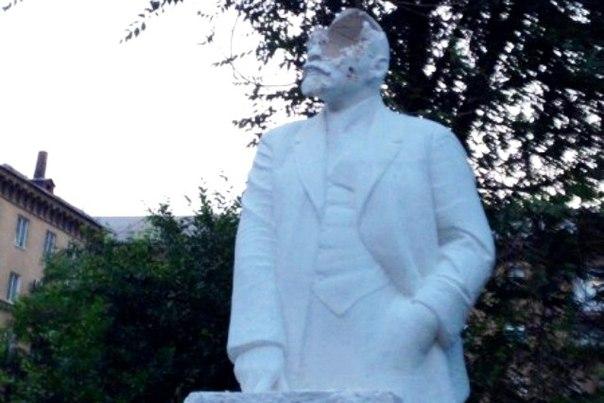 В Волгограде неравнодушные граждане проломили голову Бланку