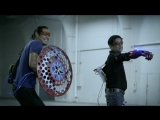 Grant Imahara and Allen Pan Battle their Super Hero Technology - Project Heroes ep 3