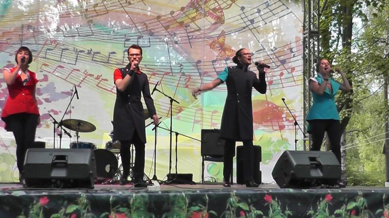 Группа FEEL'ARMONIA на празднике в Павловске