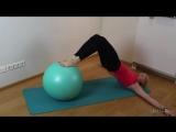 Эффективные упражнения с ФИТБОЛОМ на всё тело